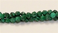 C19-06mm MALACHITE COLOR FACETED (DC)