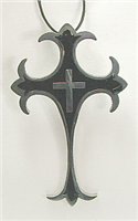 C20 STAINLESS STEEL CROSS PENDANT