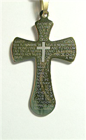 C23 STAINLESS STEEL CROSS PENDANT