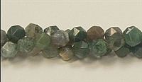 C23-08mm INDIA AGATE FACETED (DC)