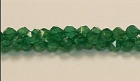 C24-06mm GREEN AGATE FACETED (DC)
