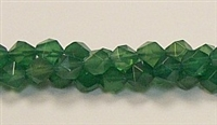 C24-08mm GREEN AGATE FACETED (DC)