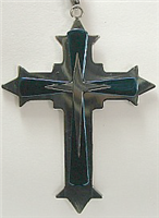 C28 STAINLESS STEEL CROSS PENDANT