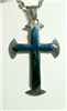 C30 STAINLESS STEEL CROSS PENDANT