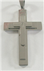 C35 STAINLESS STEEL CROSS PENDANT