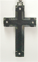 C36 STAINLESS STEEL CROSS PENDANT