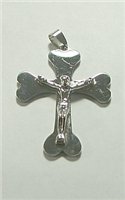 C37 STAINLESS STEEL CROSS PENDANT