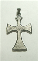 C45 STAINLESS STEEL CROSS PENDANT