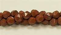 C46-08mm RED JASPER FACETED (DC)
