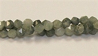 C83-06mm GREEN GRASS AGATE FACETED (DC)