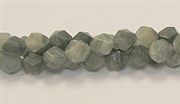 C83-08mm GREEN GRASS AGATE FACETED (DC)