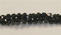 CB138-06mm BLACK AGATE FACETED (DC)
