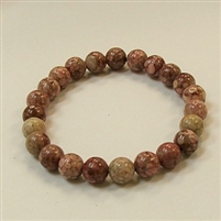 CRB176 STONE BRACELET IN RED MAIFAN
