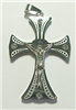 CPD01 STAINLESS STEEL CROSS PENDANT