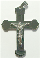 CPD11 STAINLESS STEEL CROSS PENDANT