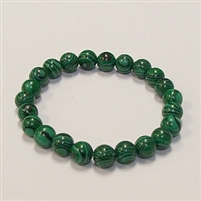 CR19 STONE BRACELET IN ARTIFICIAL MALACHITE COLOR