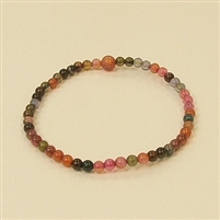 CR20-04mm STONE BRACELET IN TOURMALINE COLOR