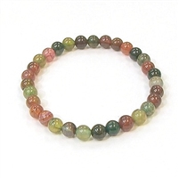 CR20-06mm STONE BRACELET IN TOURMALINE COLOR