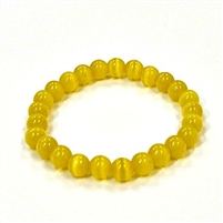 CR51-A 8mm ARTIFICIAL CAT'S EYE BRACELET