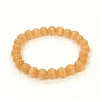 CR51-D 8mm ARTIFICIAL CAT'S EYE BRACELET