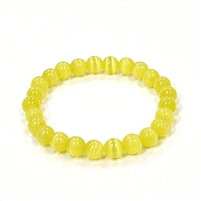 CR51-H 8mm ARTIFICIAL CAT'S EYE BRACELET