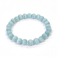 CR51-M 8mm ARTIFICIAL CAT'S EYE BRACELET