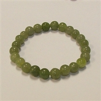CRB110 STONE BRACELET IN NEW JADE