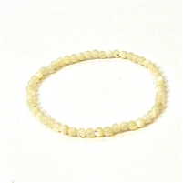 CRB123-4mm STONE BRACELET IN OYSTER