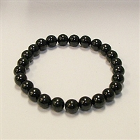 CRB127-STONE BRACELET IN BLACK TOURMALINE
