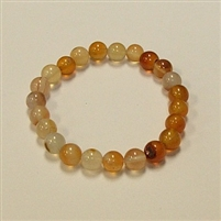 CRB189 STONE BRACELET IN NATURAL RED AGATE