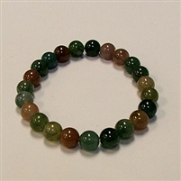 CRB195 STONE BRACELET IN RAINBOW INDIA AGATE