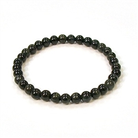 CRB200-8mm STONE BRACELET IN NATURAL BULE TIGER EYE