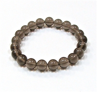 CRB237 STONE BRACELET IN SMOKY QUARTZ