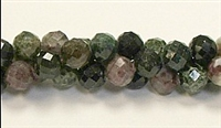 G01-8mm TOURMALINE FACETED BEADS
