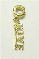 GOLD COLOR LOVE CHARM