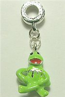 GREEN FROG CHARM