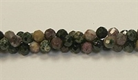 G01-06mm TOURMALINE FACETED BEADS