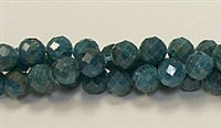 G02-8mm APATITE FACETED BEADS