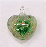 GP1-07-04 GLASS PENDANT HEART SHAPE