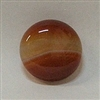 JO6-07 RED AGATE 20mm ROUND CABOCHON