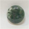 JO6-09 MOSS AGATE 20mm ROUND CABOCHON