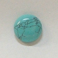 JO7-10 TOUQUOISE COLOR 16mm ROUND CABOCHON
