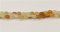 PO1-02 LIGHT IMPERIAL JADE RICE BEADS