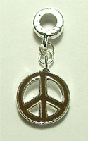 PEACE CHARM BROWN