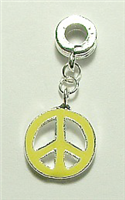 PEACE CHARM YELLOW