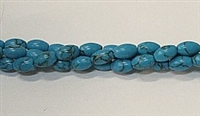 PO2-12 TURQUOISE COLOR RICE BEADS