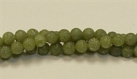 QRB110-06mm NEW JADE MATTE FINISH BEADS