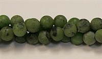 QRB121-08mm CANADA JADE MATTE FINISH BEADS
