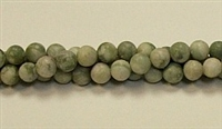 QRB124-06mm PEACE STONE MATTE FINISH BEADS