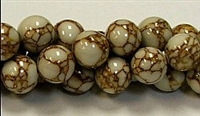 R02-10mm GOLDEN PINE JASPER